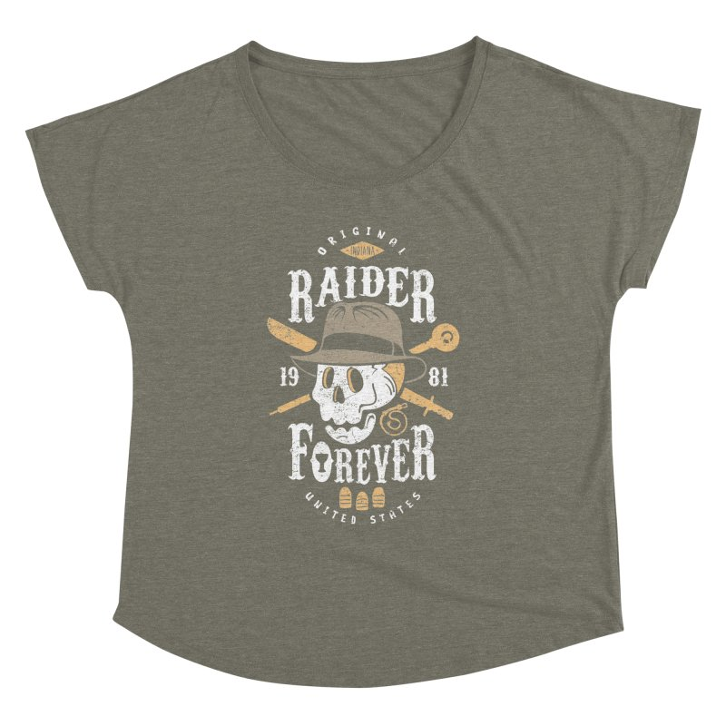 Raider Forever Women's Dolman Scoop Neck by Olipop Art & Design Shop