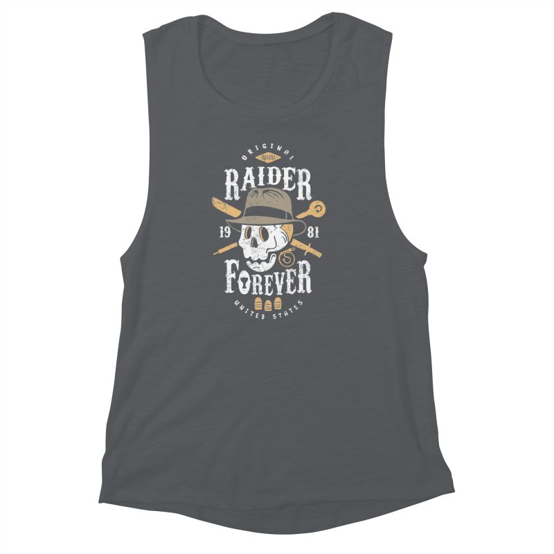 Raider Forever Women's Muscle Tank by Olipop Art & Design Shop