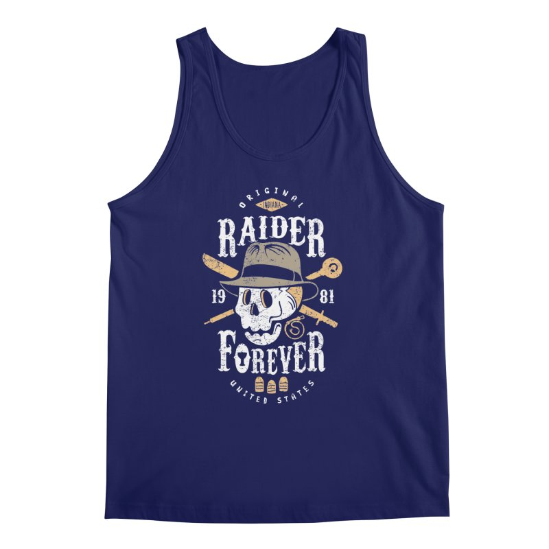 Raider Forever Men's Regular Tank by Olipop Art & Design Shop