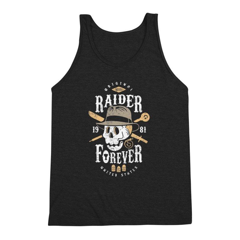 Raider Forever Men's Triblend Tank by Olipop Art & Design Shop
