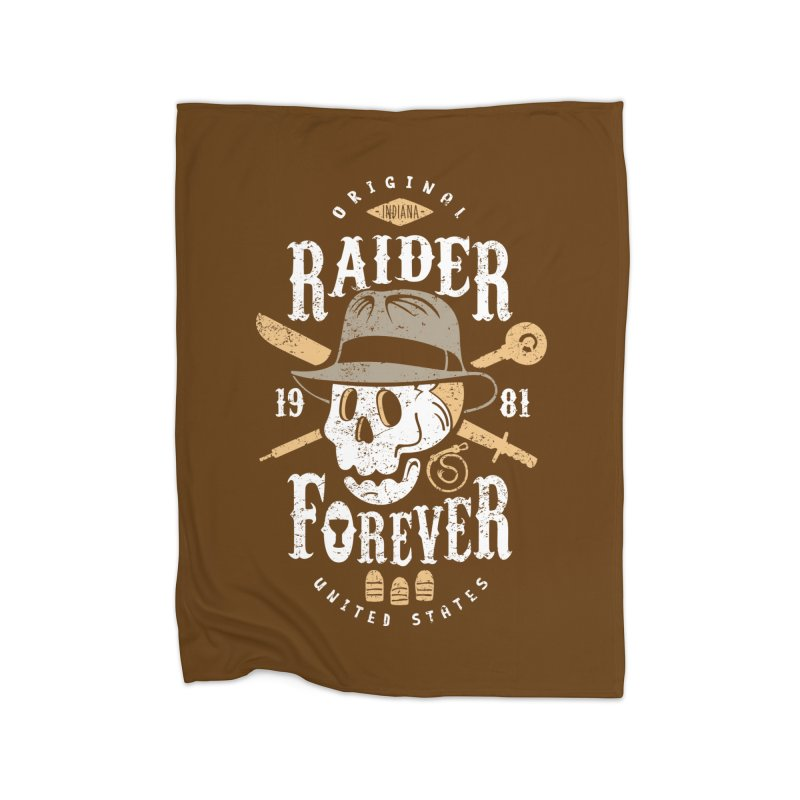 Raider Forever Home Fleece Blanket Blanket by Olipop Art & Design Shop