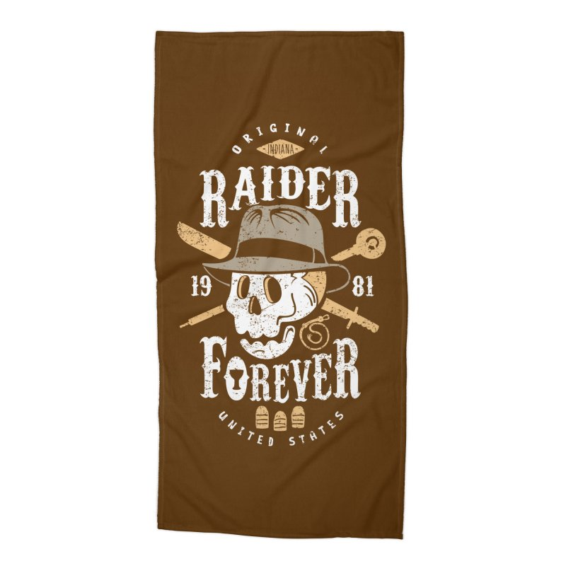 Raider Forever Accessories Beach Towel by Olipop Art & Design Shop