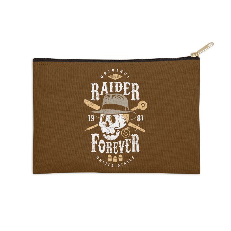 Raider Forever Accessories Zip Pouch by Olipop Art & Design Shop