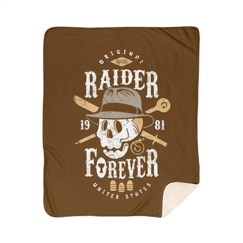 Raider Forever Home Sherpa Blanket Blanket by Olipop Art & Design Shop