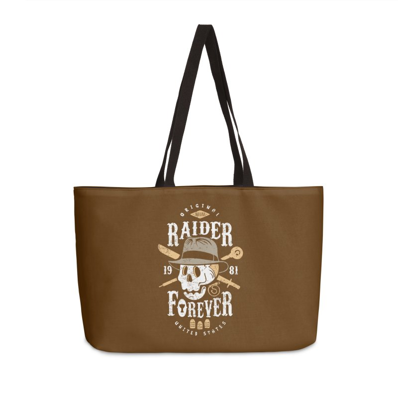 Raider Forever Accessories Weekender Bag Bag by Olipop Art & Design Shop