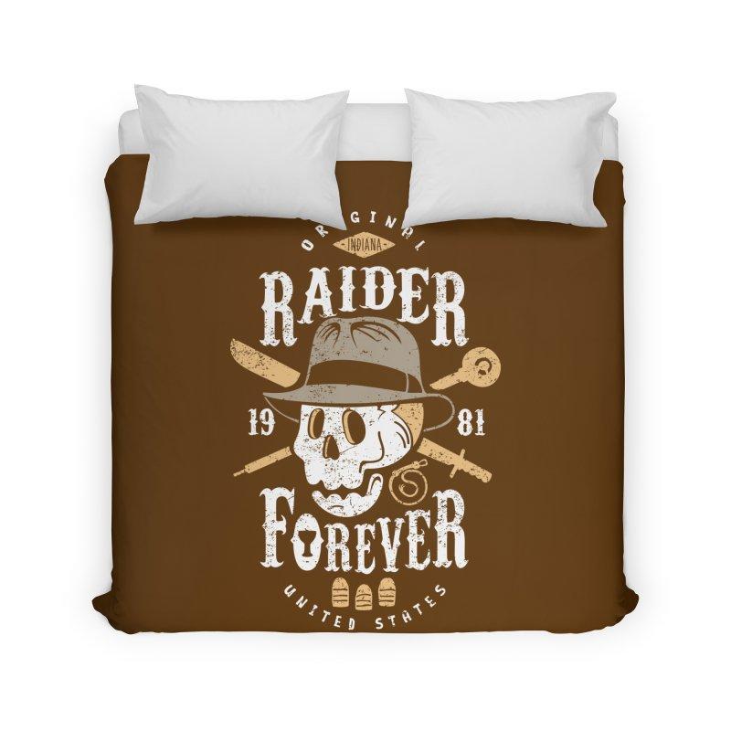 Raider Forever Home Duvet by Olipop Art & Design Shop