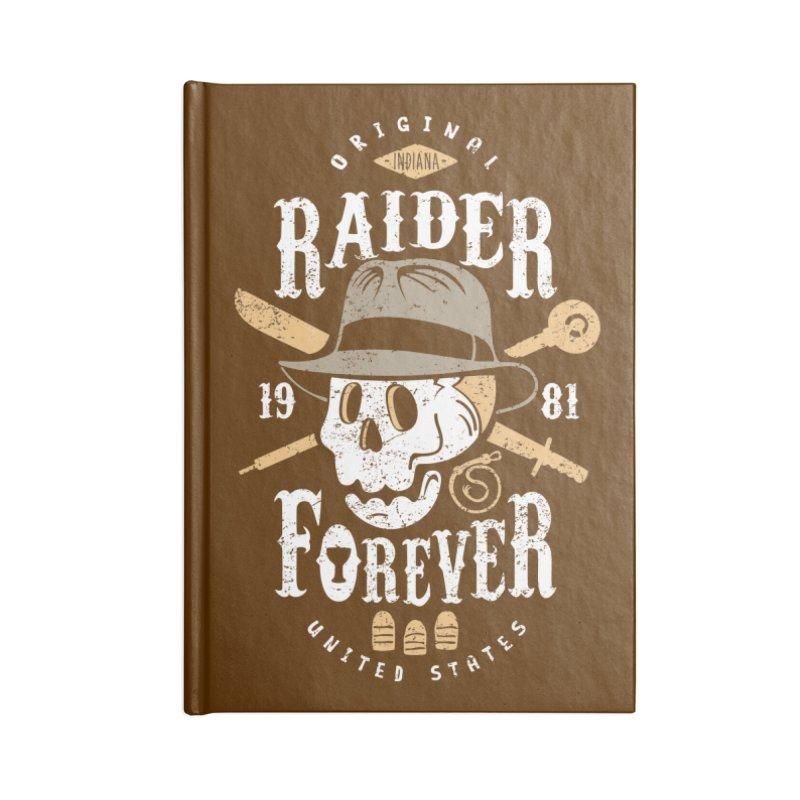 Raider Forever Accessories Blank Journal Notebook by Olipop Art & Design Shop