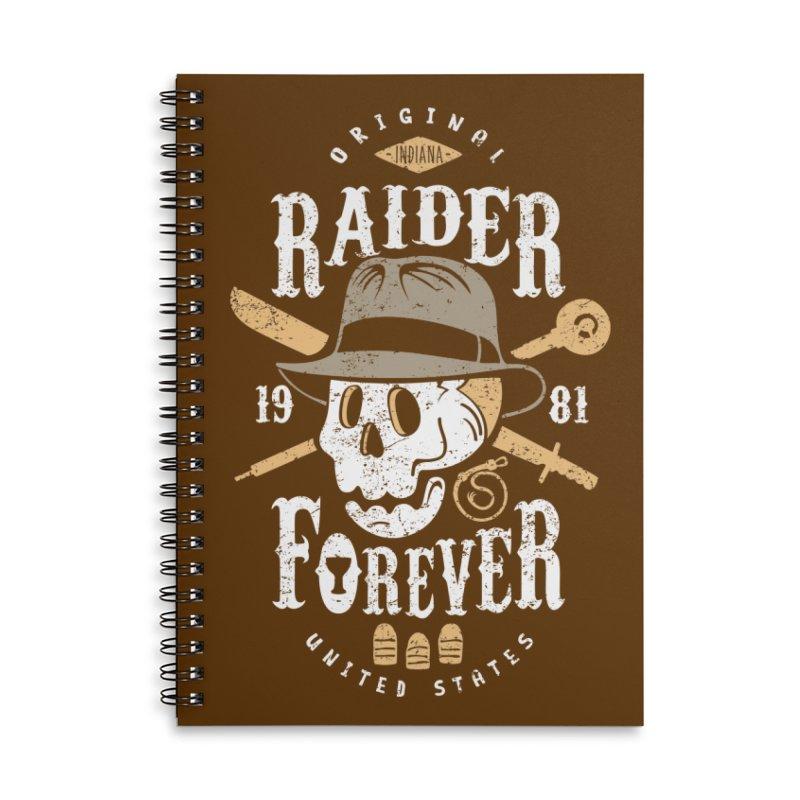 Raider Forever Accessories Notebook by Olipop Art & Design Shop