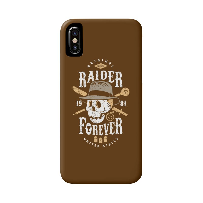 Raider Forever Accessories Phone Case by Olipop Art & Design Shop