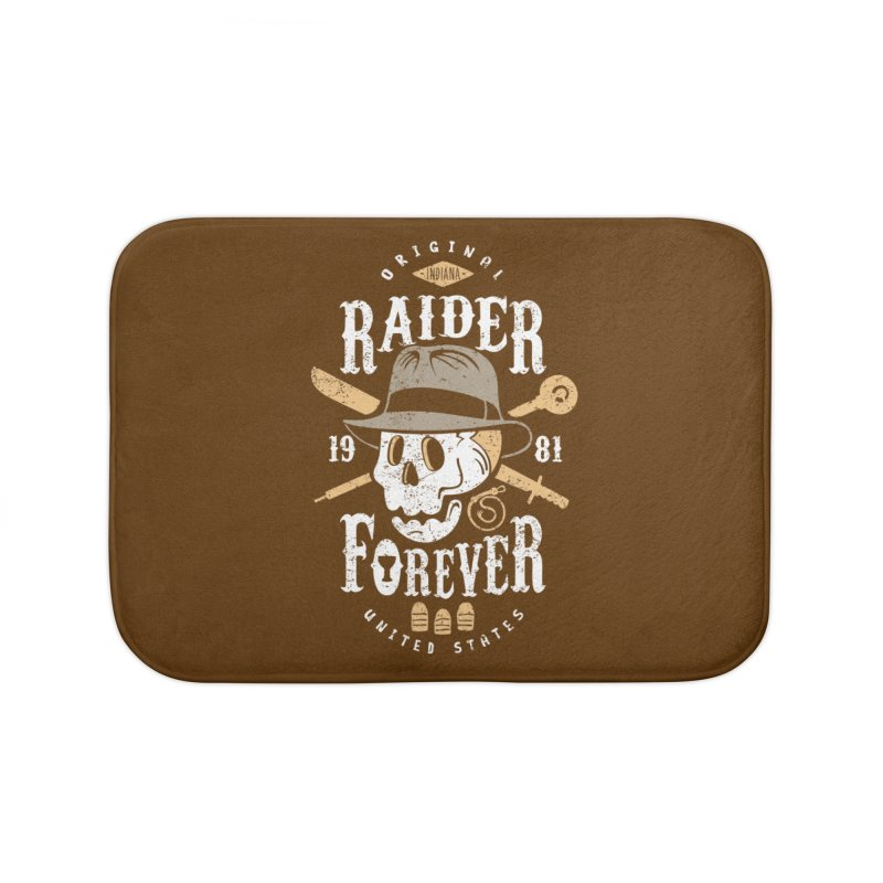 Raider Forever Home Bath Mat by Olipop Art & Design Shop