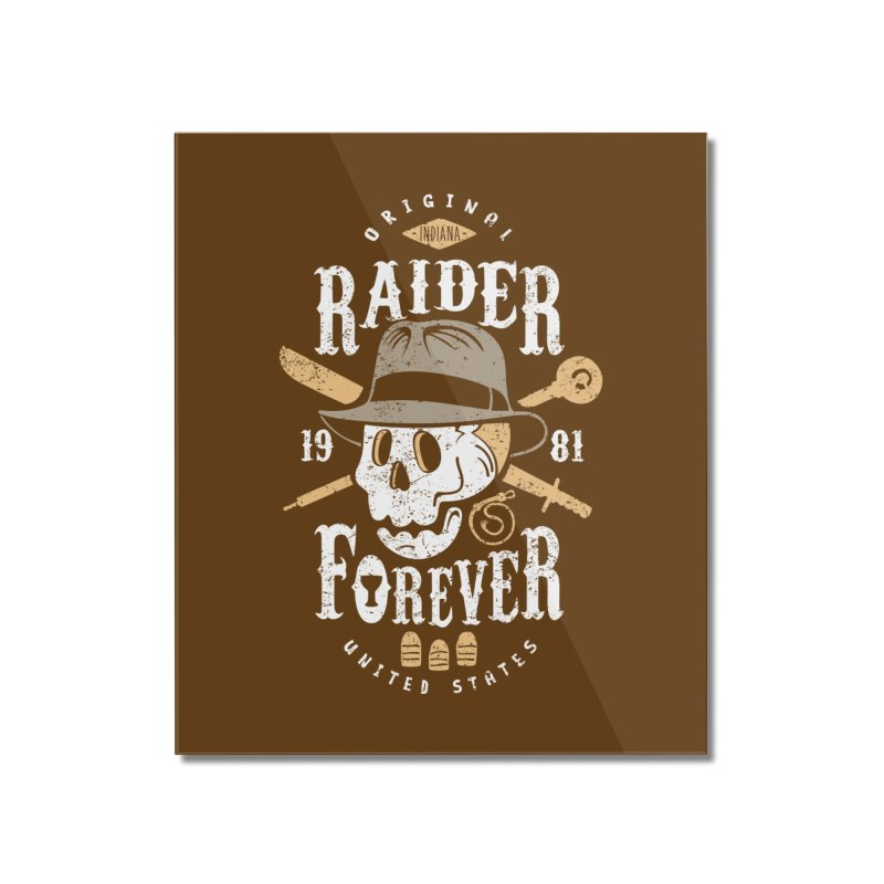Raider Forever Home Mounted Acrylic Print by Olipop Art & Design Shop