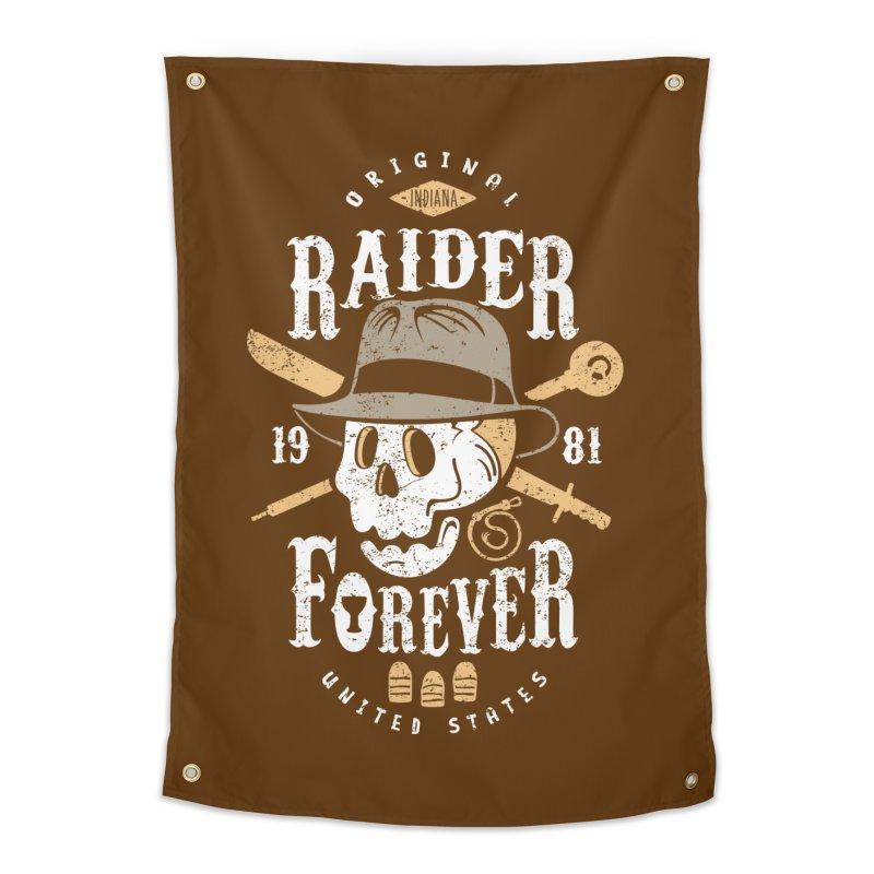 Raider Forever Home Tapestry by Olipop Art & Design Shop