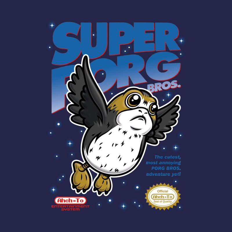Super Porg Bros by Olipop Art & Design Shop