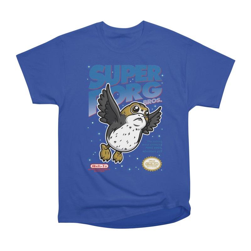 Super Porg Bros Women's Heavyweight Unisex T-Shirt by Olipop Art & Design Shop