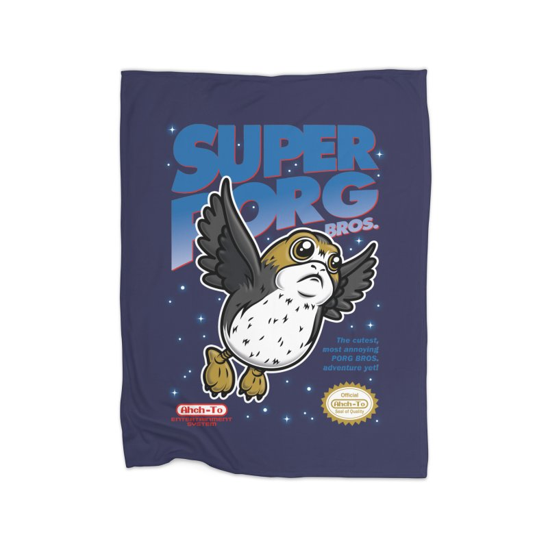 Super Porg Bros Home Blanket by Olipop Art & Design Shop