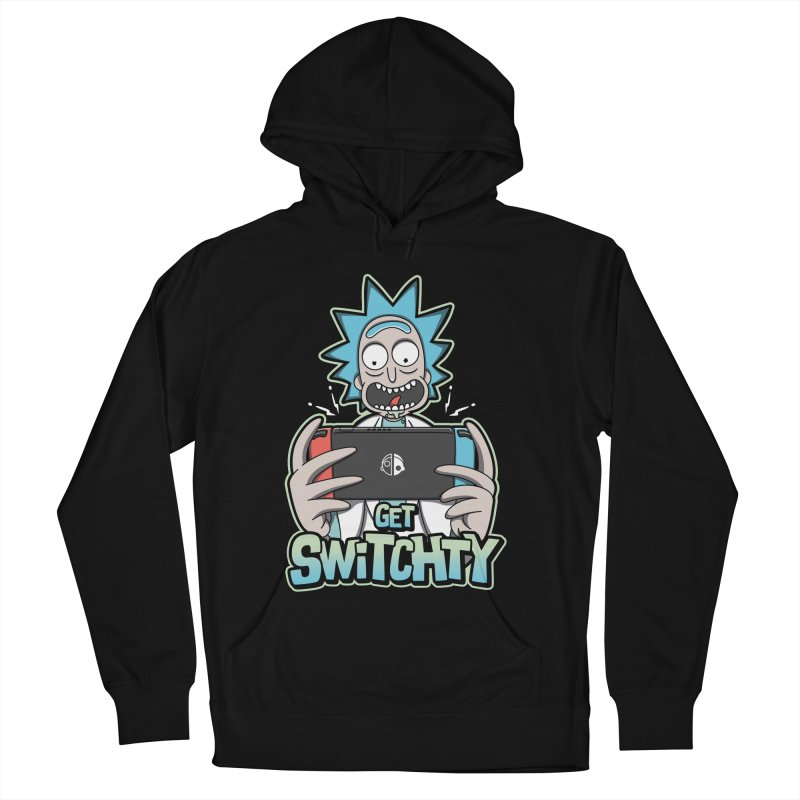 Get Switchty Men's French Terry Pullover Hoody by Olipop Art & Design Shop