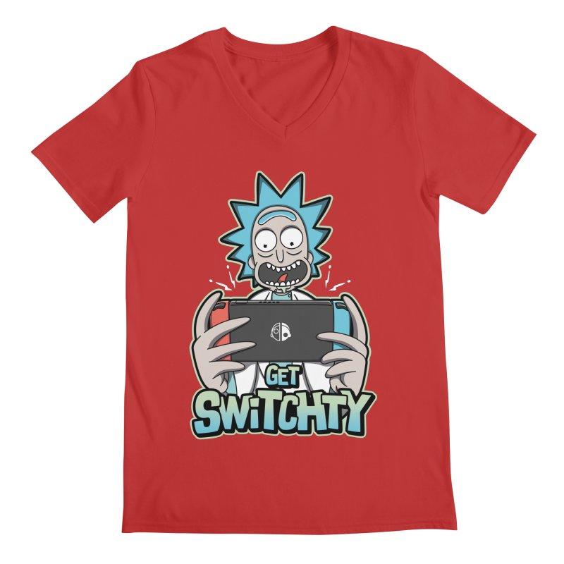 Get Switchty Men's Regular V-Neck by Olipop Art & Design Shop