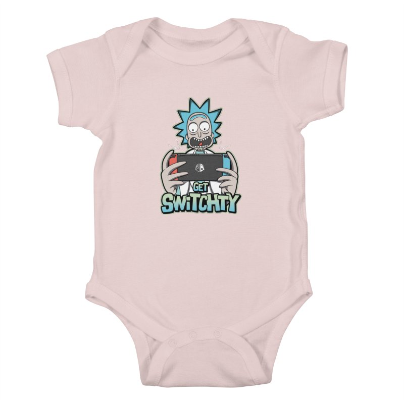 Get Switchty Kids Baby Bodysuit by Olipop Art & Design Shop
