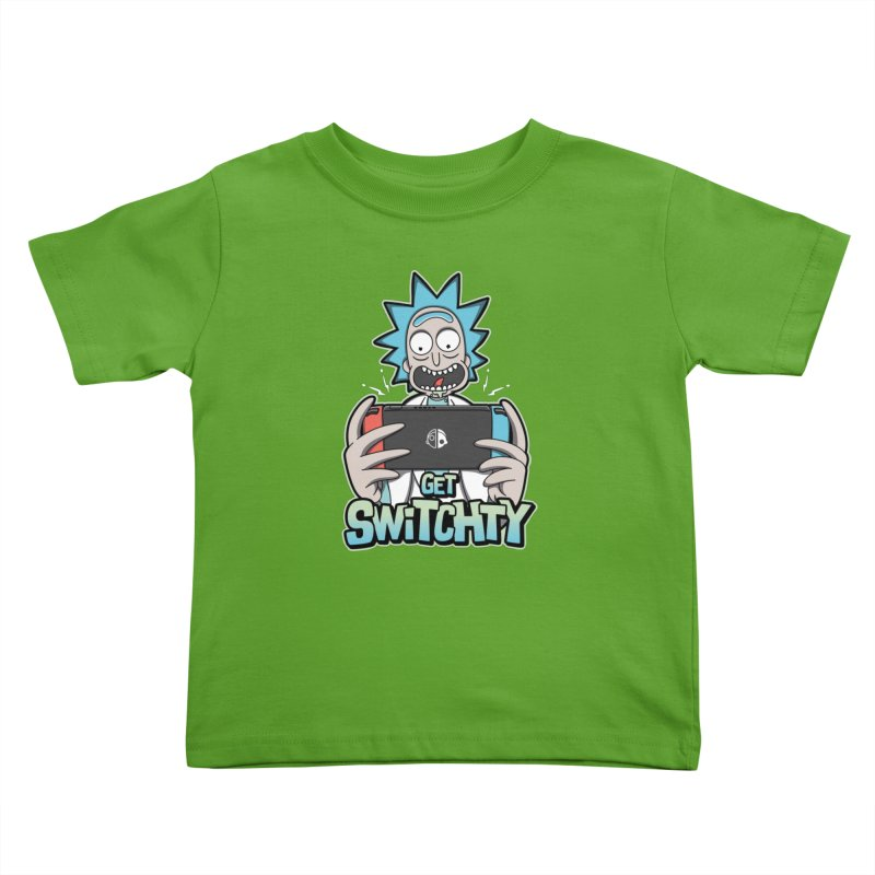 Get Switchty Kids Toddler T-Shirt by Olipop Art & Design Shop