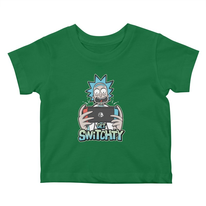 Get Switchty Kids Baby T-Shirt by Olipop Art & Design Shop