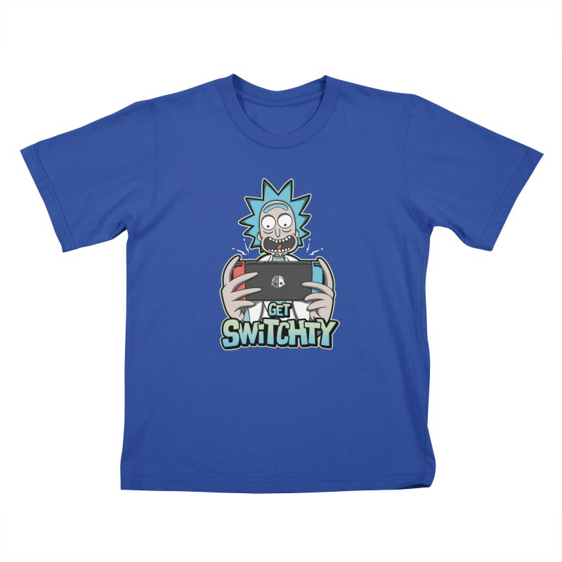 Get Switchty Kids T-Shirt by Olipop Art & Design Shop