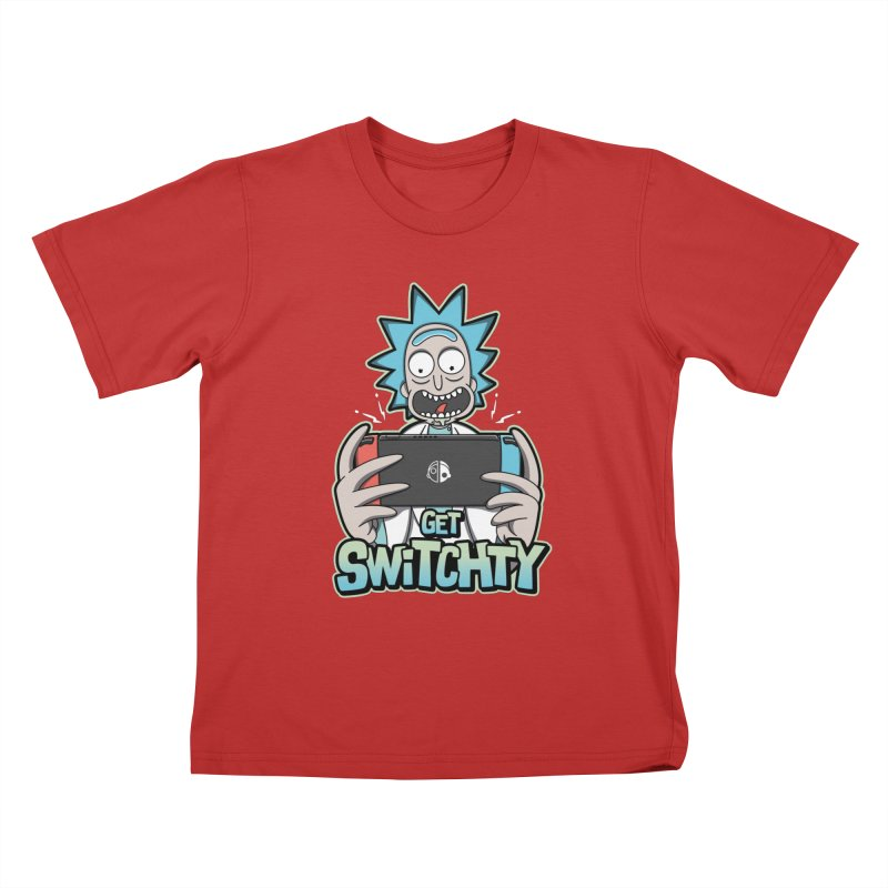 Get Switchty Kids T-Shirt by Olipop Art & Design Shop