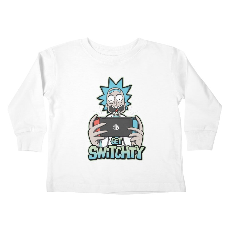 Get Switchty Kids Toddler Longsleeve T-Shirt by Olipop Art & Design Shop