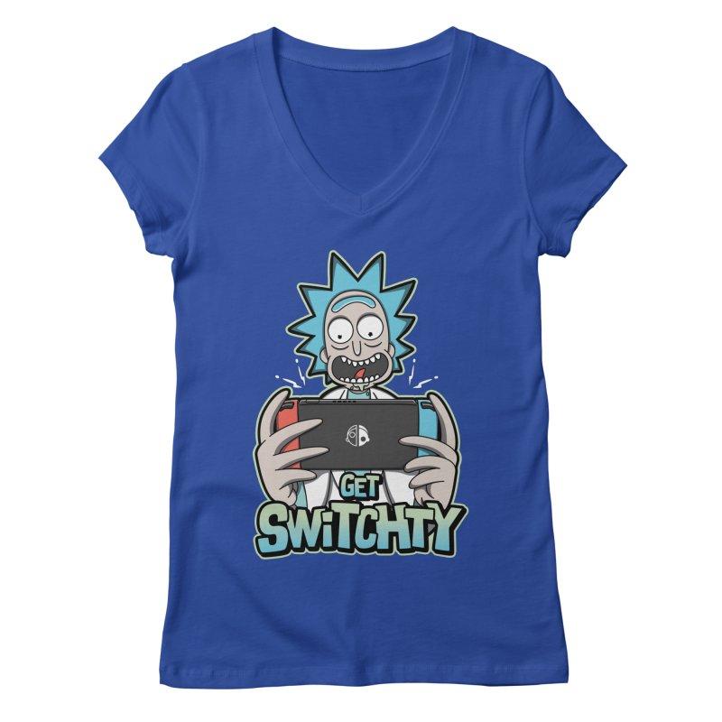 Get Switchty Women's Regular V-Neck by Olipop Art & Design Shop