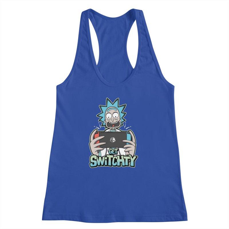 Get Switchty Women's Racerback Tank by Olipop Art & Design Shop