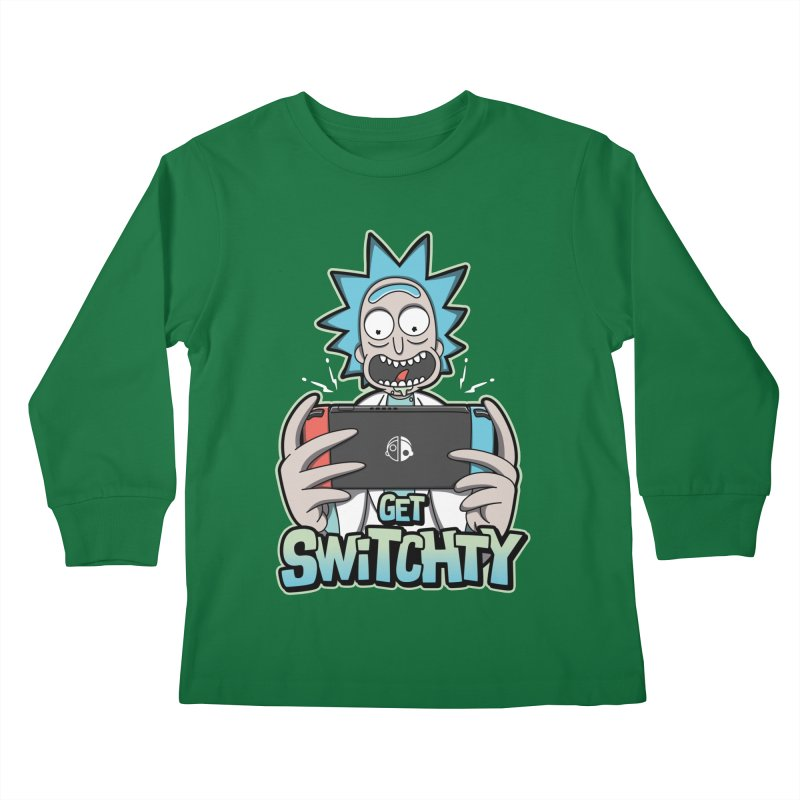 Get Switchty Kids Longsleeve T-Shirt by Olipop Art & Design Shop