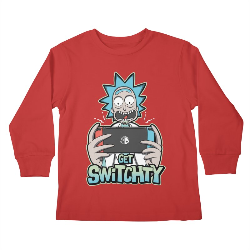 Get Switchty Kids Longsleeve T-Shirt by Olipop Art & Design Shop