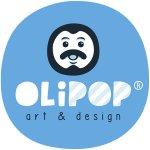 Logo for Olipop Art & Design Shop