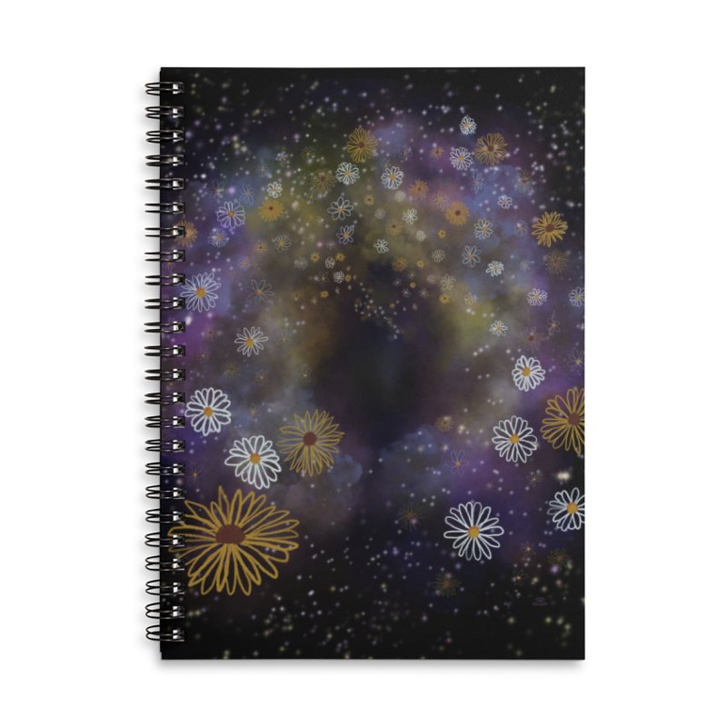 Flower Hole Accessories Notebook by Ollam's Artist Shop
