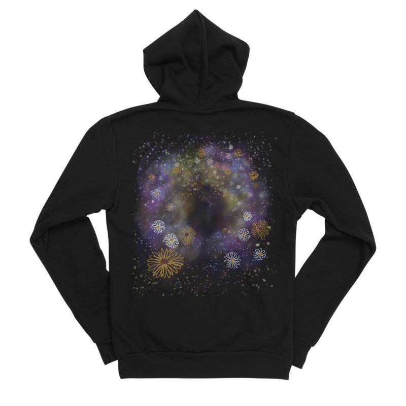 Flower Hole Women's Zip-Up Hoody by Ollam's Artist Shop