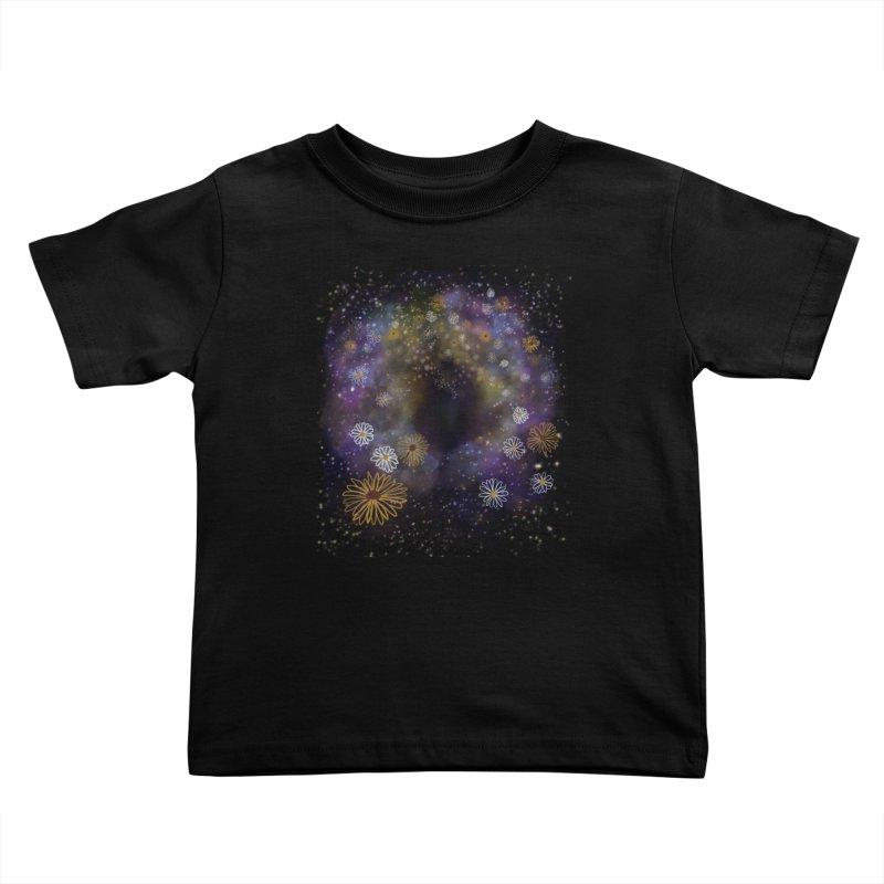 Flower Hole Kids Toddler T-Shirt by Ollam's Artist Shop