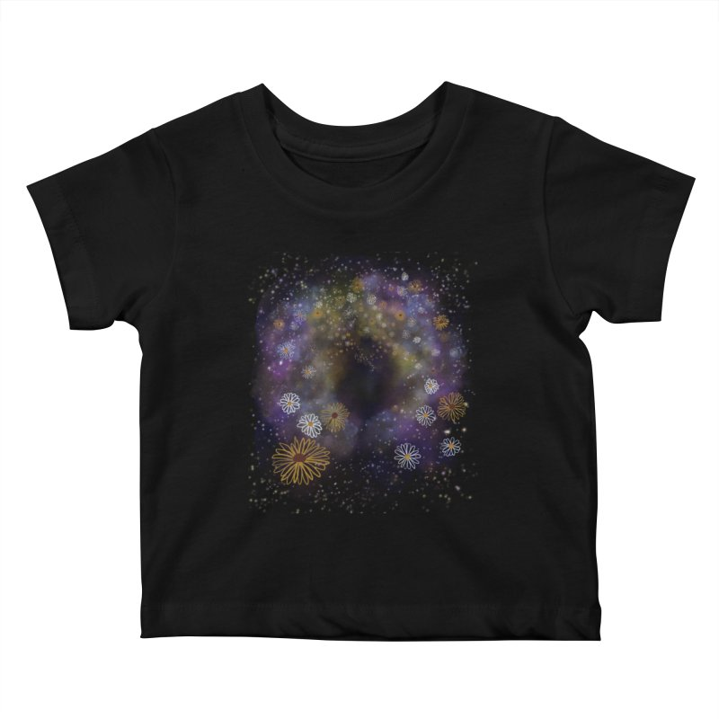 Flower Hole Kids Baby T-Shirt by Ollam's Artist Shop