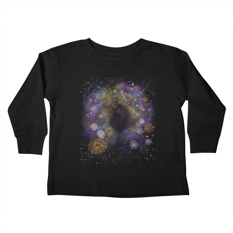 Flower Hole Kids Toddler Longsleeve T-Shirt by Ollam's Artist Shop