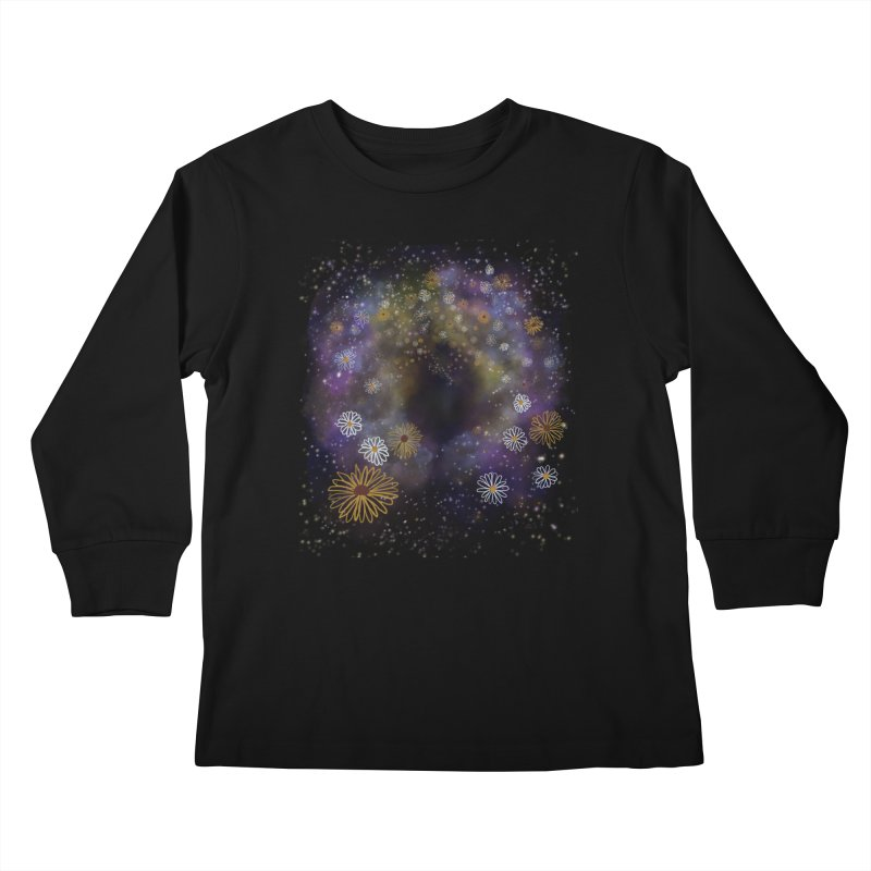 Flower Hole Kids Longsleeve T-Shirt by Ollam's Artist Shop