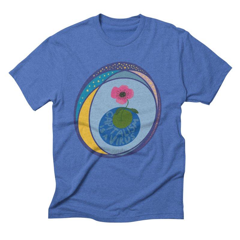Capitalism is a Virus Men's T-Shirt by Ollam's Artist Shop