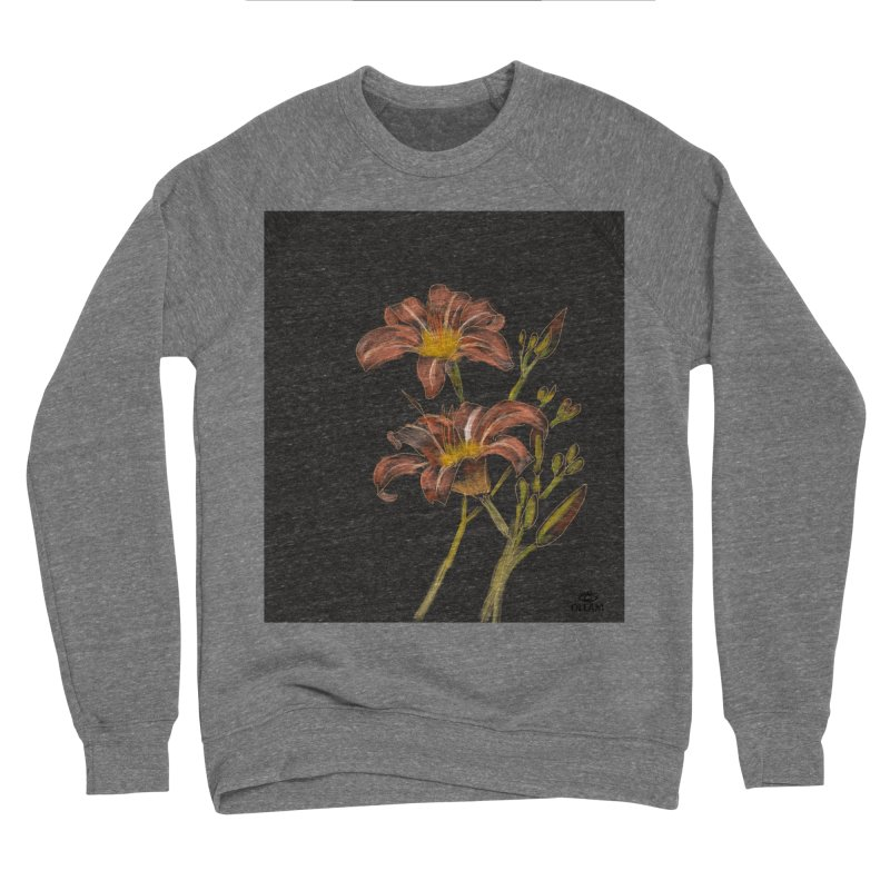 Tiger lily 2 Women's Sweatshirt by Ollam's Artist Shop