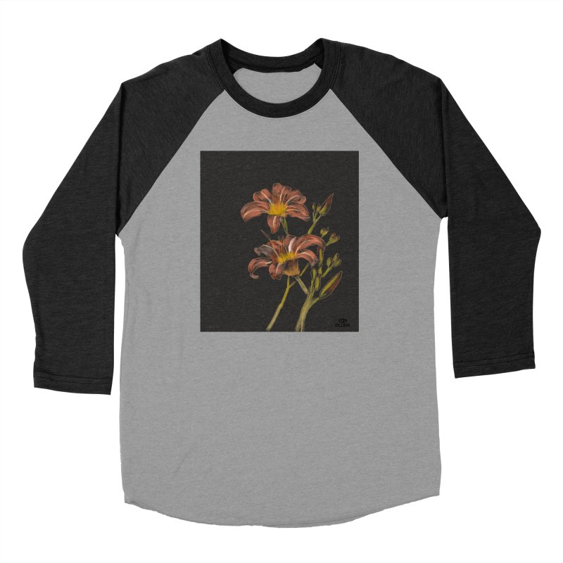 Tiger lily 2 Men's Longsleeve T-Shirt by Ollam's Artist Shop