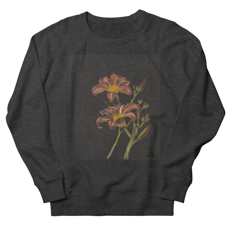 Tiger lily 2 Women's Sweatshirt by Ollam's Artist Shop