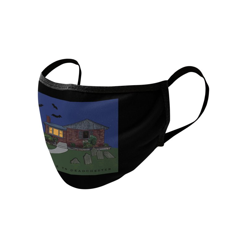 Deadchester, IL Accessories Face Mask by Ollam's Artist Shop