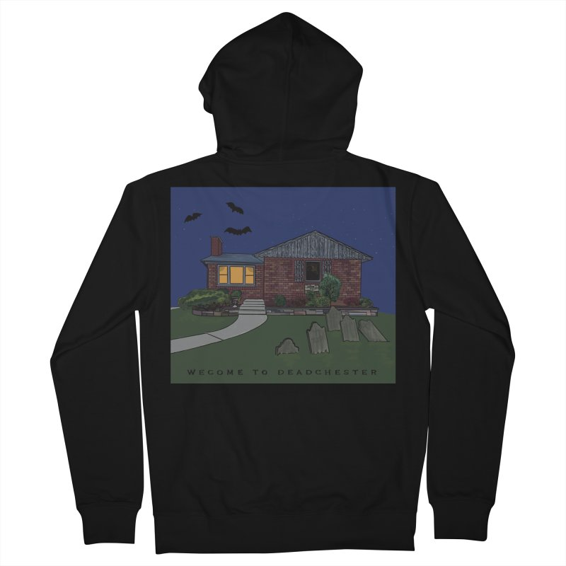 Deadchester, IL Men's Zip-Up Hoody by Ollam's Artist Shop