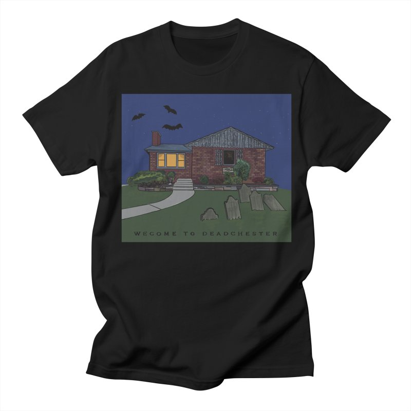 Deadchester, IL Men's T-Shirt by Ollam's Artist Shop
