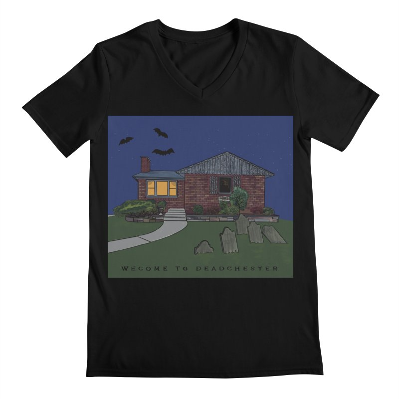 Deadchester, IL Men's V-Neck by Ollam's Artist Shop