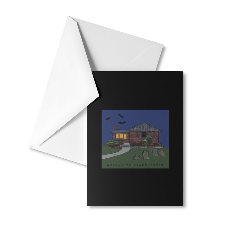Deadchester, IL Accessories Greeting Card by Ollam's Artist Shop