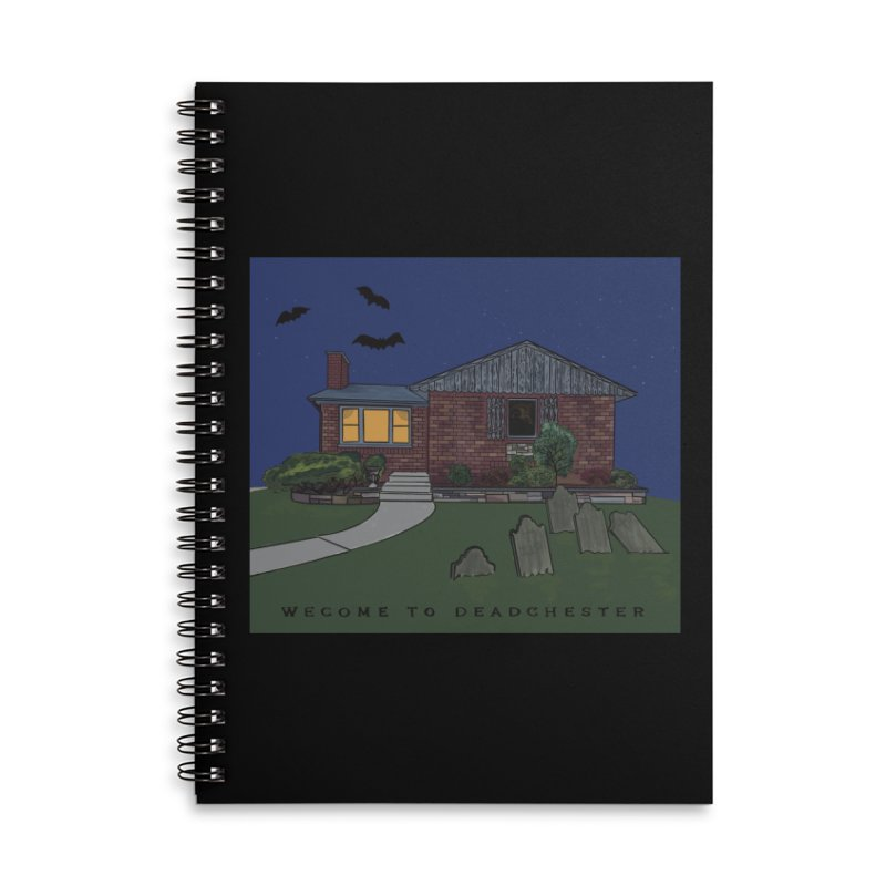 Deadchester, IL Accessories Notebook by Ollam's Artist Shop