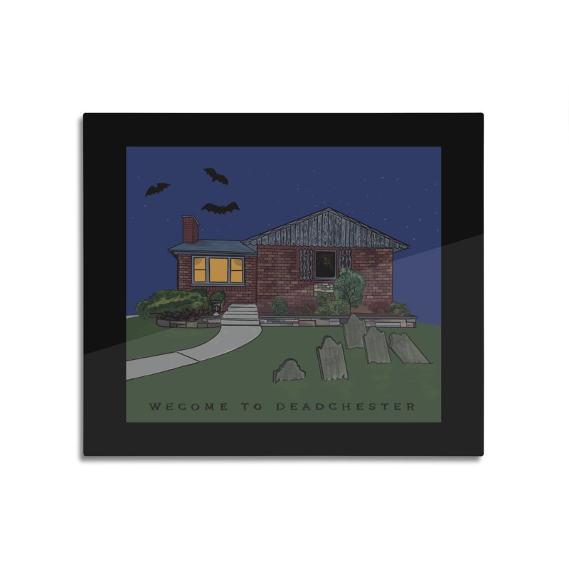 Deadchester, IL Home Mounted Acrylic Print by Ollam's Artist Shop