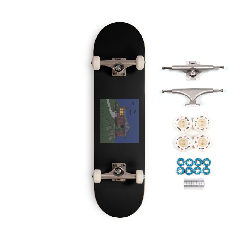 Deadchester, IL Accessories Skateboard by Ollam's Artist Shop